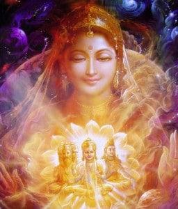 ParamaShakti-BrahmaVishnuShiva