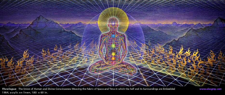 Theologue © Alex Grey