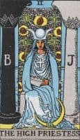 the high priestess archetype
